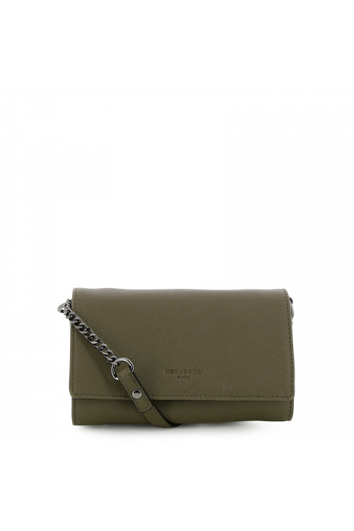 Synthetic clutch bag