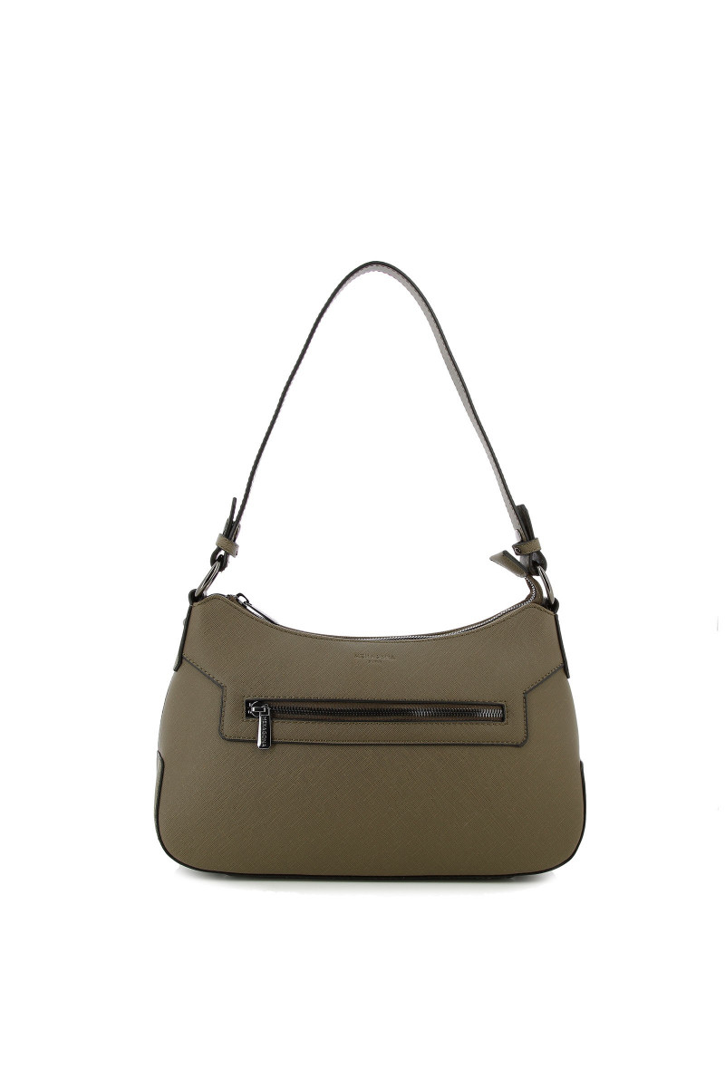 Synthetic shoulder bag