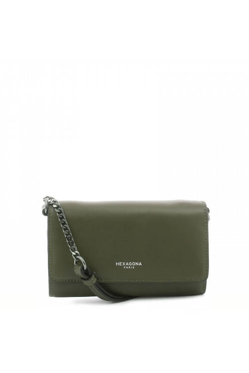 Pochette transformable en cuir
