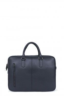 """15"""" leather briefcase"""