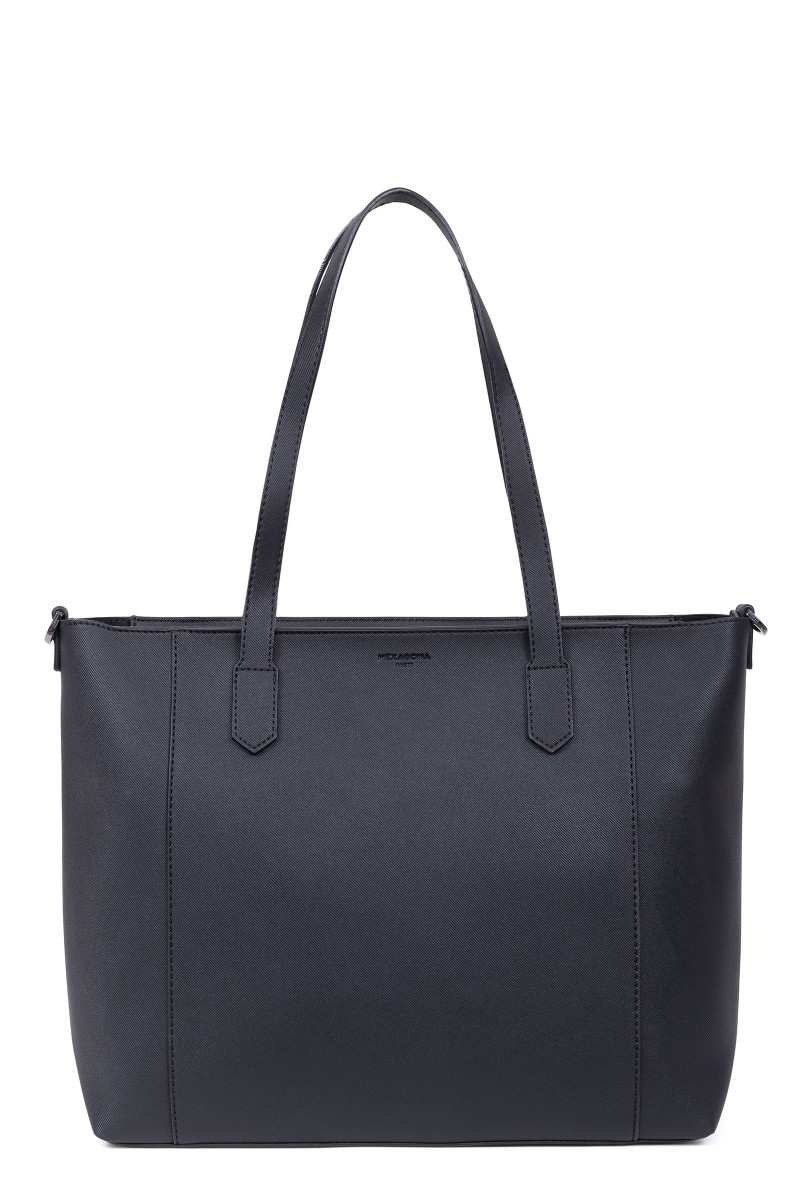 Sac shopping en synthétique double face