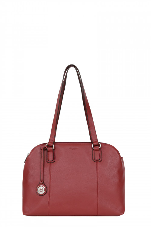 Cow leather A4  shoulder bag