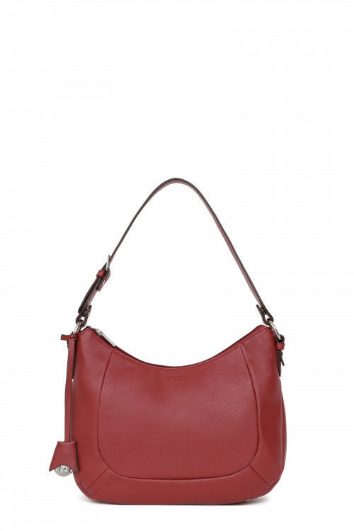 Cow leather 1 handle  shoulder bag