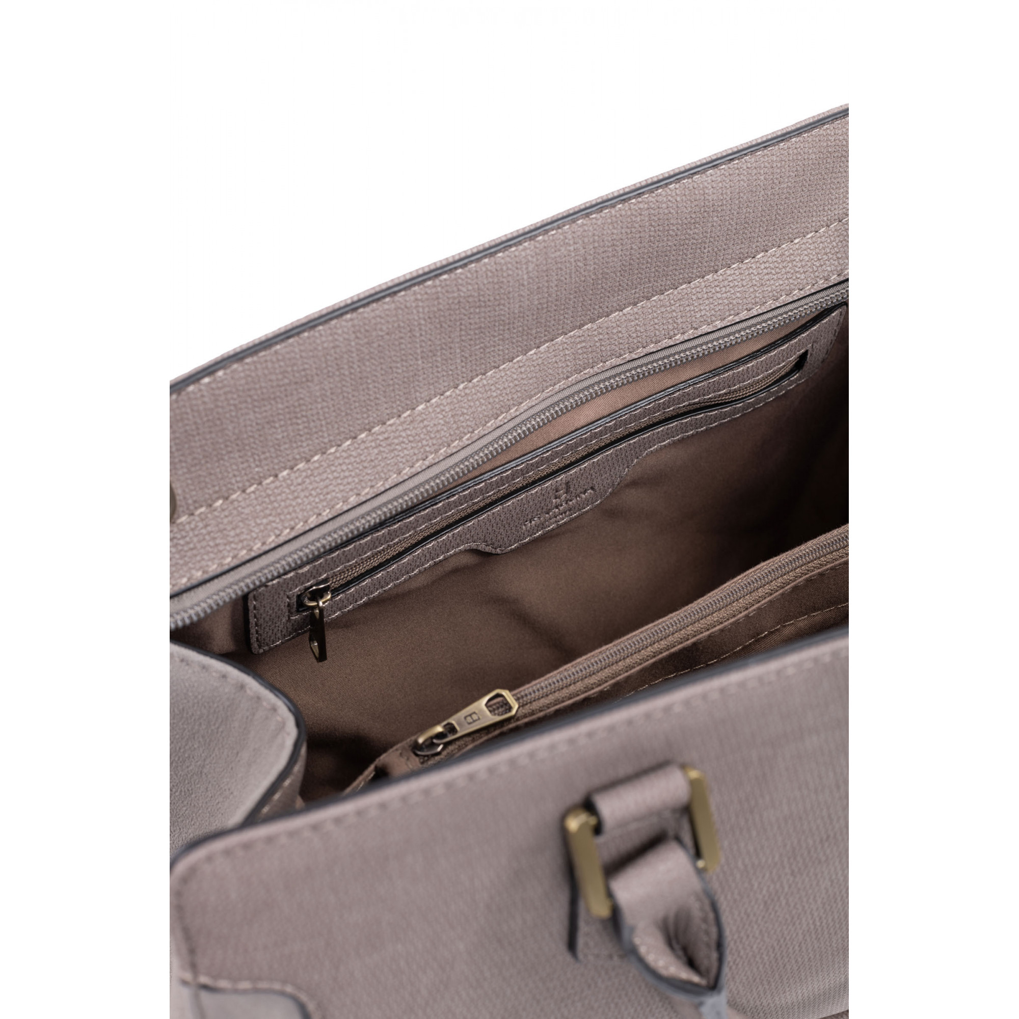 Synthetic handle bag