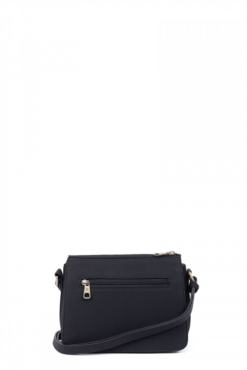 Synthetic crossbody bag