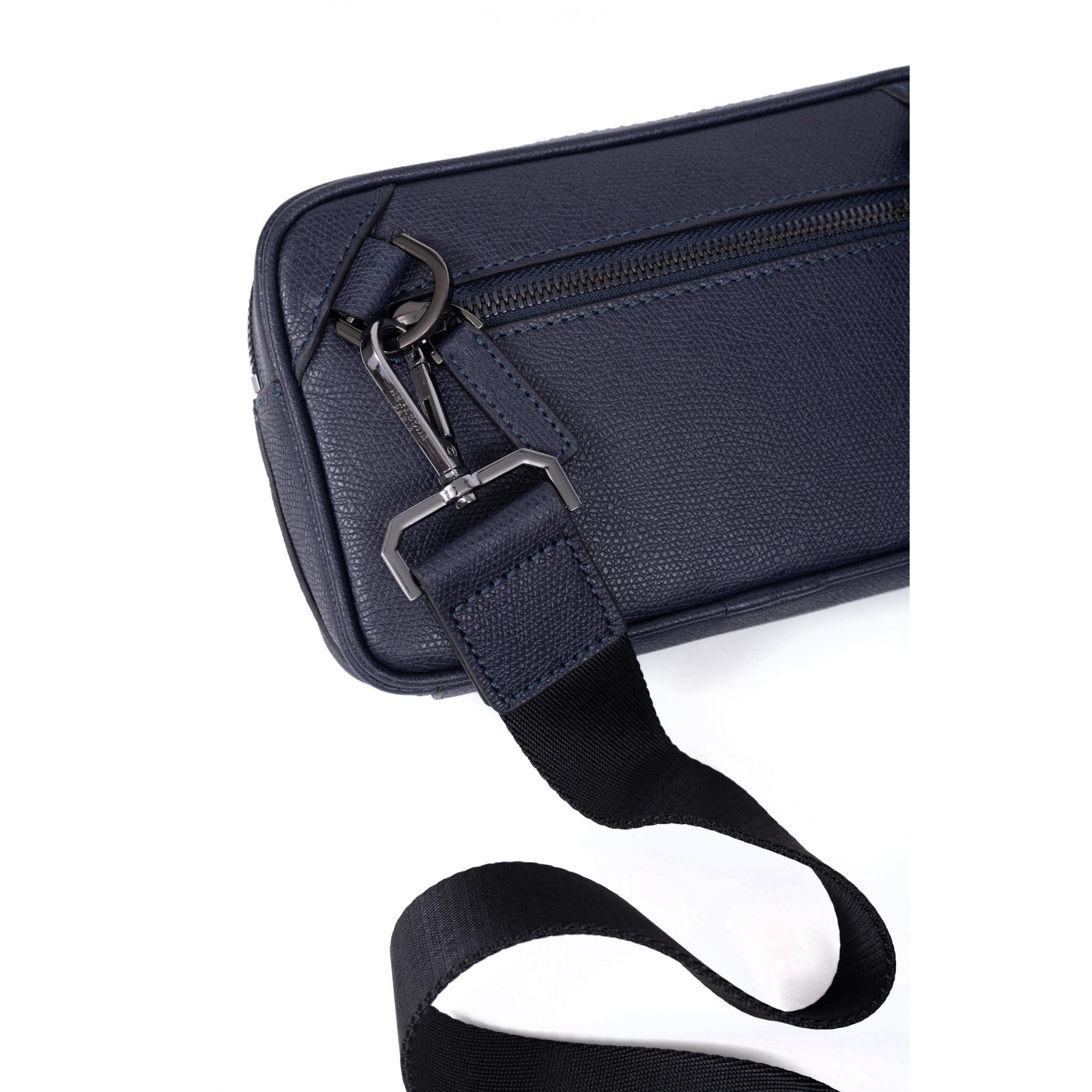 Premium grained leather hand clutch bag