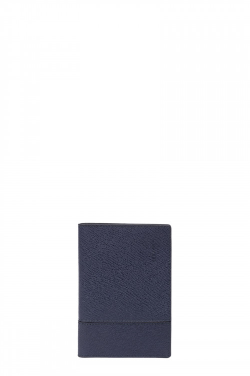 Premium grained leather passport holder