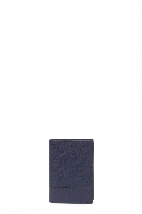 Premium grained leather wallet