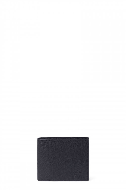 Premium grained leather card case