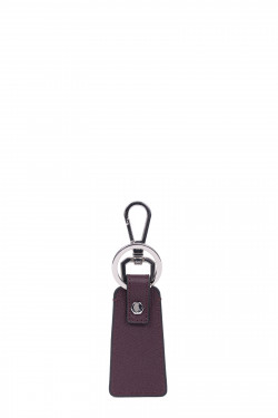 Premium grained leather key holder