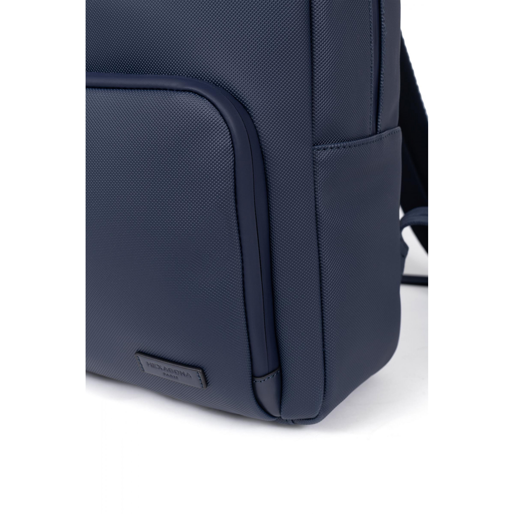 Synthetic with split leather backpack