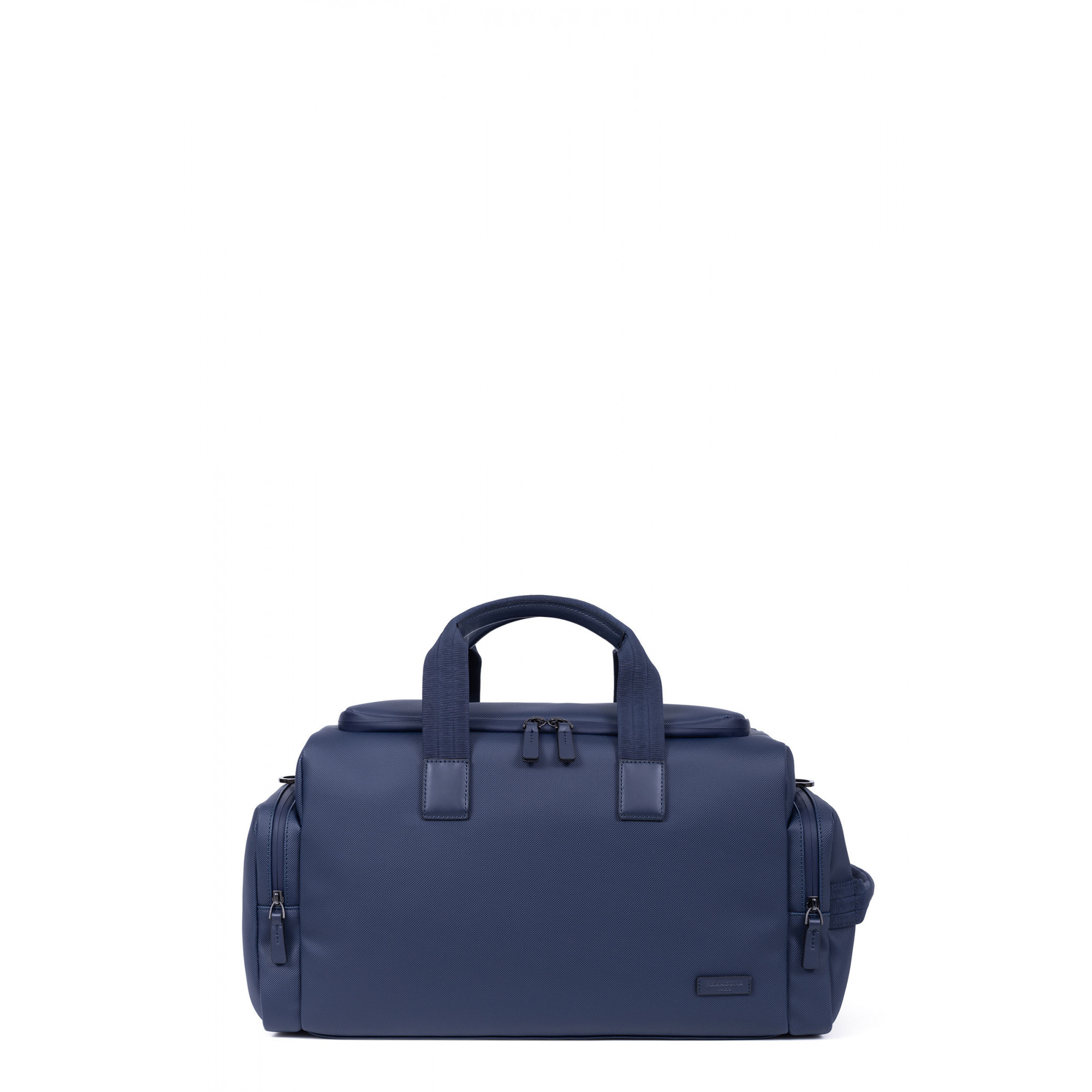 Saffiano printed synthetic with split leather travel bag