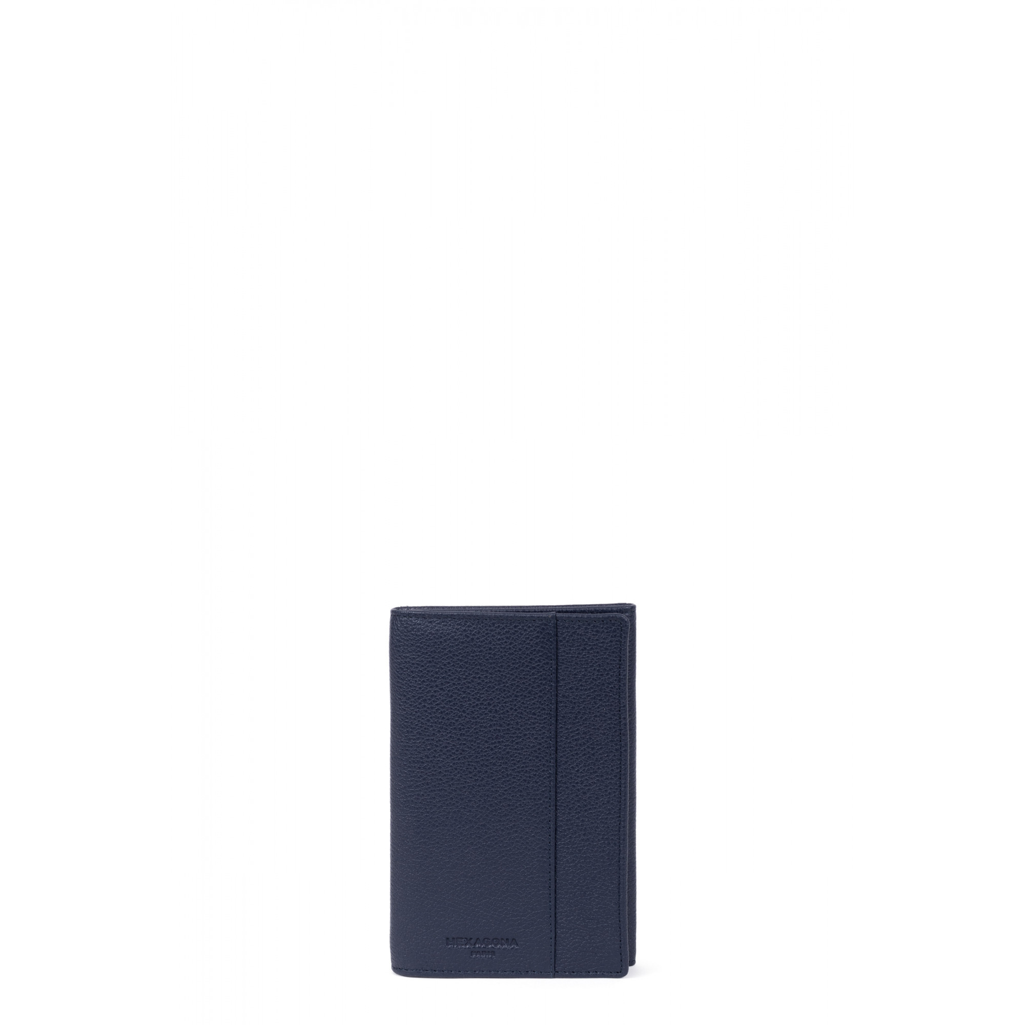 Grained leather documents holder