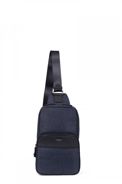 Nylon monostrap backpack