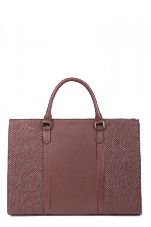 Leather totebag