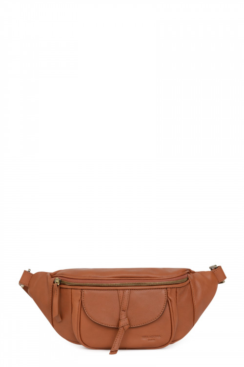 Leather bum bag