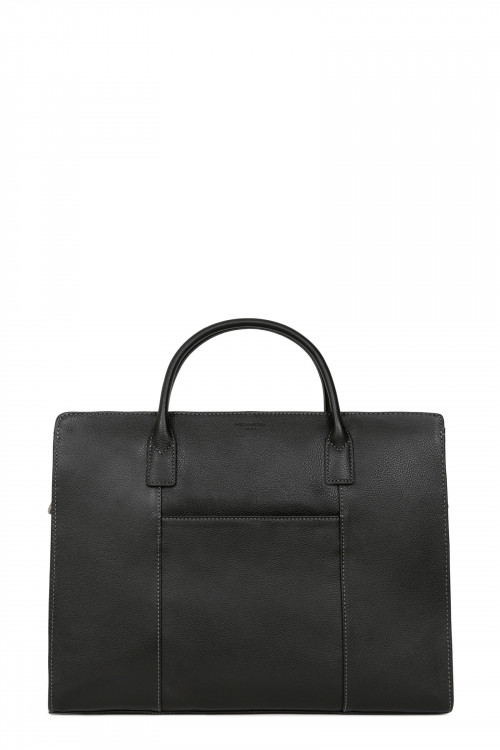 Leather A4 briefcase