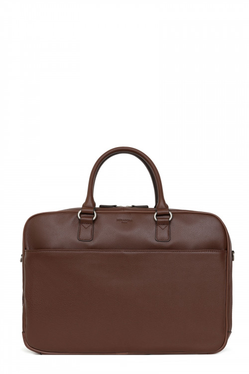 "Leather 13"" laptop bag"