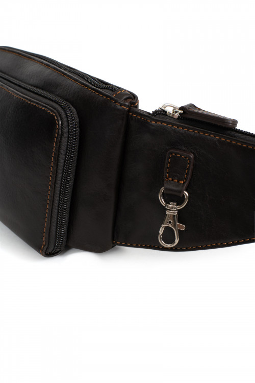 Leather bum bags