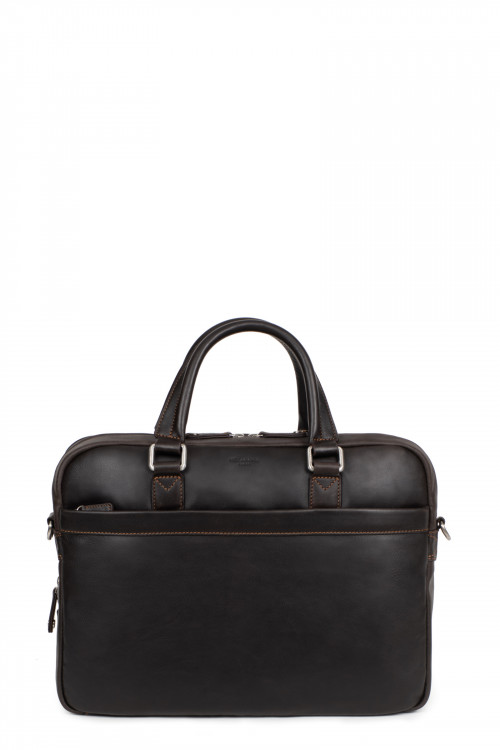 """Cow leather 15""""  computer bag"""