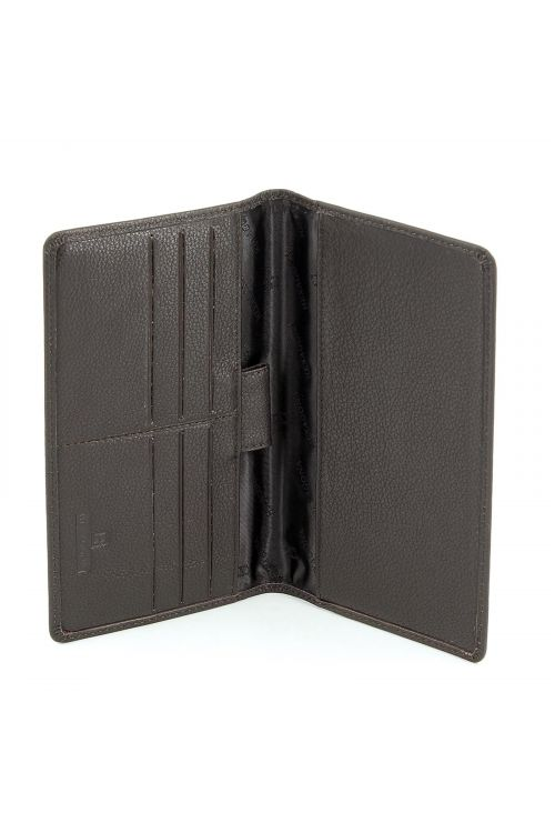 Leather cheque book case