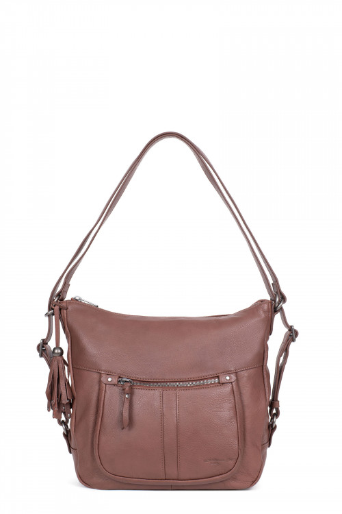Sac transformable en cuir...