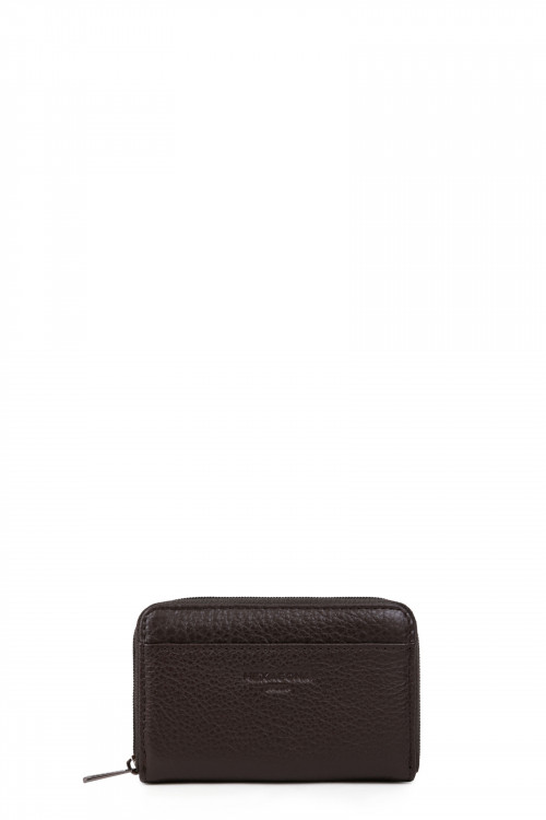 Leather card case stop RFID