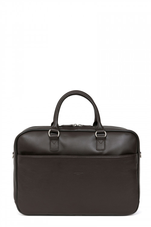 """13"""" and A4 Leather briefcase"""