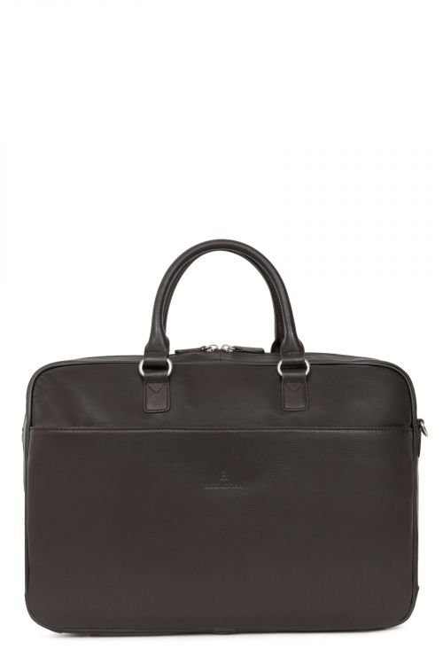 "15"" and A4 Leather briefcase"