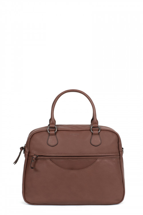 A4 Leather handle bag