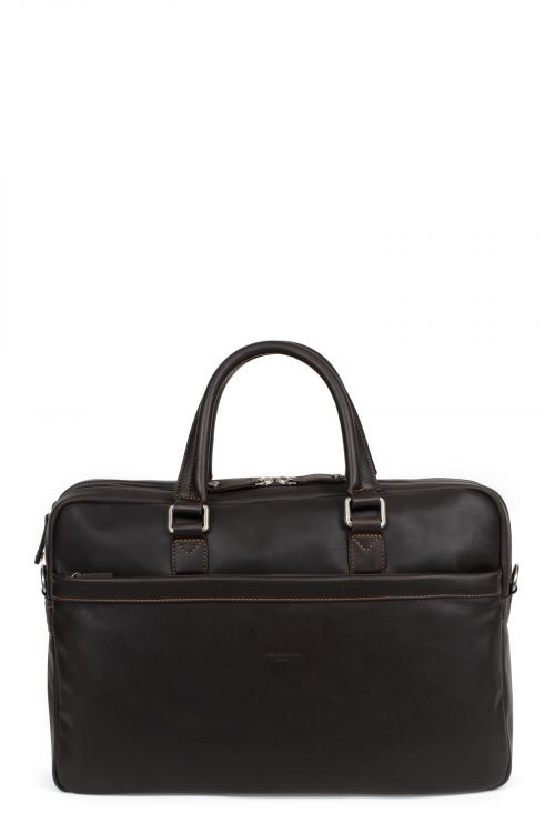 """17"""" and A4 Leather briefcase"""
