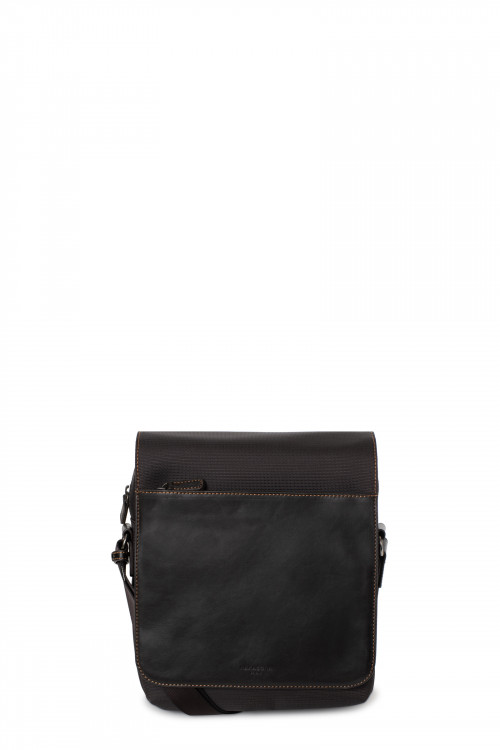 Small messenger bag with tablet compartment