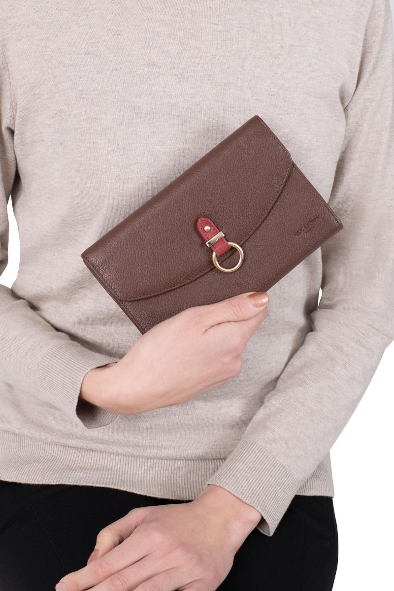 Leather wallet stop RFID